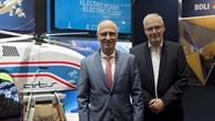 Hamburgs Oberbürgermeister besucht DLR%2dStand
