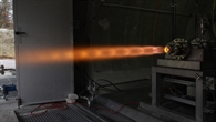 Hybridraketentriebwerk AHRES-B erfolgreich in Trauen getestet
