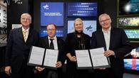 DLR und ONERA unterzeichneten das KI%2dAbkommen am DLR%2dStand