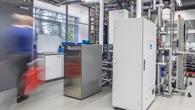 Zeitraffertest mit einer brennstoffzellenbasierten KWK%2dAnlage am Institut für Vernetzte Energiesysteme
