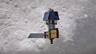 Indischer Mondorbiter Chandrayaan%2d2 und Mondlandemodul Vikram