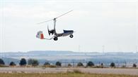 DLR erprobt Tragschrauber-Drohne im Flugversuch