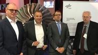MdB Mattfeldt (2.v.l.) mit Vertretern des BMWi und des PT%2dLF