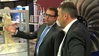 Leiter PT%2dLF Bode im Gespräch mit MdB Mattfeldt