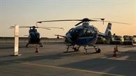 Der Fliegende Hubschraubersimulator EC%2d135 FHS