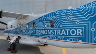 "Do%2d228 D%2dCFFU des DLR mit Sonderbeklebung als ""Electric Flight Demonstrator"""