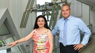 Nezahat Baradari und Dr.-Ing. Walther Pelzer