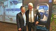 Chef der NASA-Luftfahrtforschung Jaiwon Shin verabschiedet