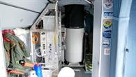LIDAR%2dMessgerät ALIMA in der HALO%2dKabine