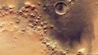 Blick auf die Region Colles Nili auf dem Mars