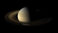 Tag%2dund%2dNacht%2dGleiche auf dem Saturn: Frühlingsanfang auf der Nordhalbkugel