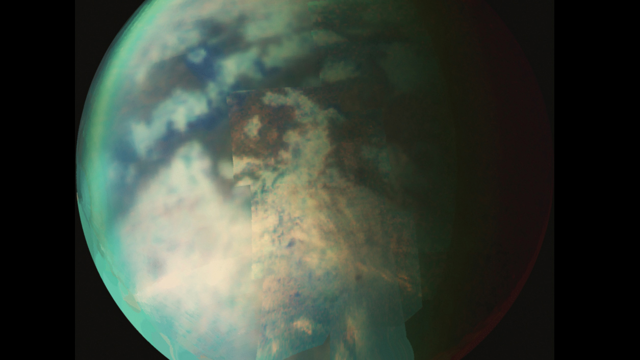 Titan: moon with an atmosphere
