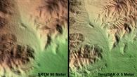 USA, Las Vegas %2d Das erste Höhenmodell mit TerraSAR%2dX