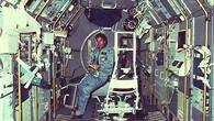 Ulf Merbold während der Spacelab%2d1%2dMission