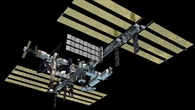 Die Internationale Raumstation ISS nach ihrer Fertigstellung