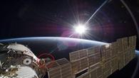 """Versuchsträger """"EXPOSE%2dR"""" mit den Mikroorganismen an der Außenwand der ISS"""