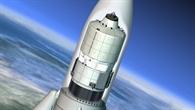 ATV %2d Geschützt beim Aufstieg durch die Atmosphäre