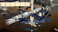 Bahnkorrektur für die ISS