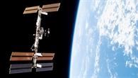 Die ISS zwischen Weltraum und Erde, November 2007