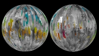 Der Mars im Blick der Stereokamera HRSC