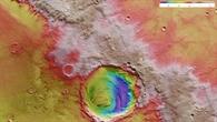 Die letzte Hürde für Mark Watney %2d der Rand des Kraters Schiaparelli