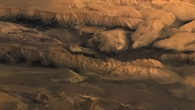 Valles Marineris central section