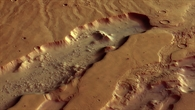 Start of the Mars valleys Dao Vallis and Niger Vallis