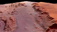 Eos Chasma %2d 'dawn over the gorge'