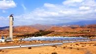 Solarturmkraftwerk in Südspanien
