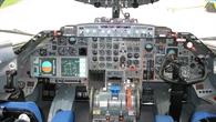 Cockpit des Forschungsträgers ATTAS
