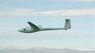 DG 300%2d17 das Hochleistungssegel Flugzeug des DLR