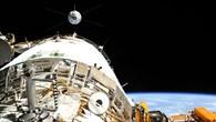 ATV%2d4 dockt an die ISS an