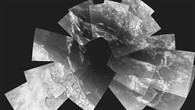 Titan aus zehn Kilometer Höhe
