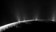 Die Eisfontänen des Enceladus