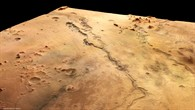 Perspective colour view of the Dao and Niger Valles