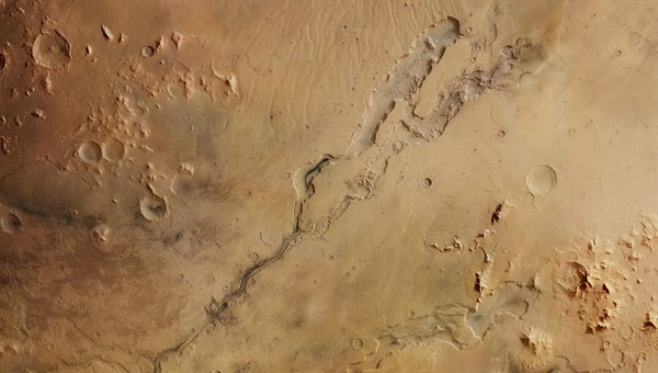 Vertical view of the Dao and Niger Valles