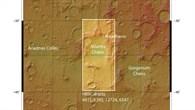 Übersicht der Region Sirenum Terra im Marshochland