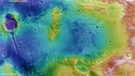 Topographical image of the Atlantis basin