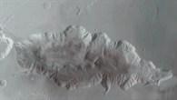 Anaglyphenbild von Hebes Chasma