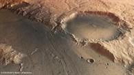 Perspective view of Tinto Vallis