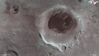 Rabe Crater in 3D
