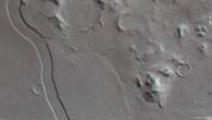 Anaglyph image of Reull Vallis