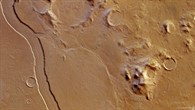 Colour plan view of Reull Vallis and its surroundings