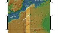 Übersichtskarte über Osuga Valles