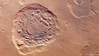 Ismenia Patera-Krater auf dem Mars