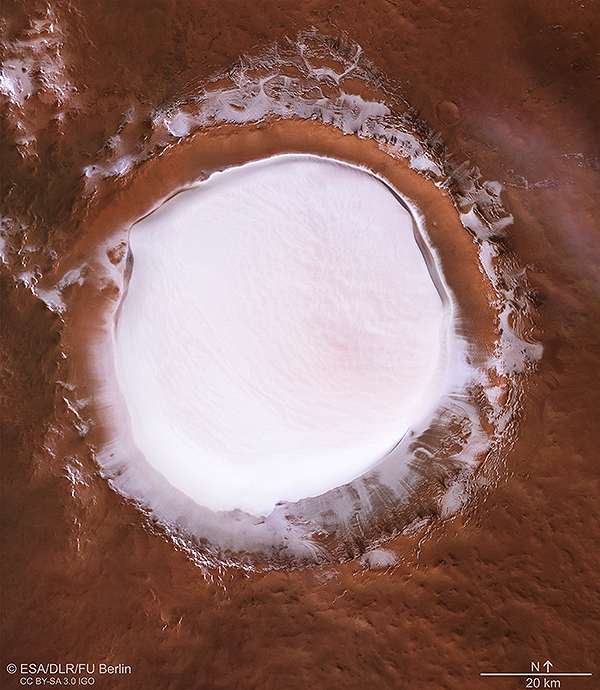 Mars Express - Mission en orbite martienne - Page 7 KorolevCrater_mosaic_co_600