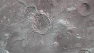 3D%2dAnsicht des Kraters nördlich von Hellas Planitia