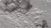 3D%2dAnsicht des nördlichen Teils der Region Nili Fossae auf dem Mars
