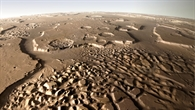The striking landscape of Hydraotes Chaos on Mars