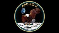 Apollo%2d11%2dMissionsemblem: Adler als Friedenstaube